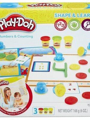 Игровой набор пластилина Hasbro Play-Doh Цифры и числа.