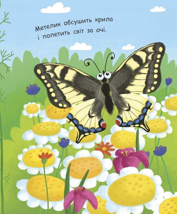 Моя перша енциклопедія. Як народжується метелик?