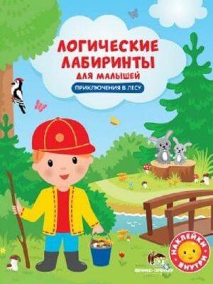 Приключения в лесу. Логические лабиринты для малышей