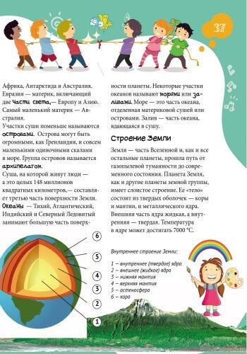 Большая энциклопедия младшего школьника. Все обо всем