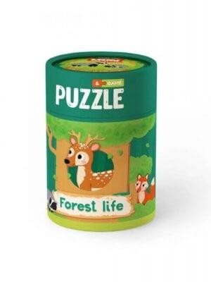 """Пазл та гра """"Зоологія для Малят. Життя в лісі"""""""