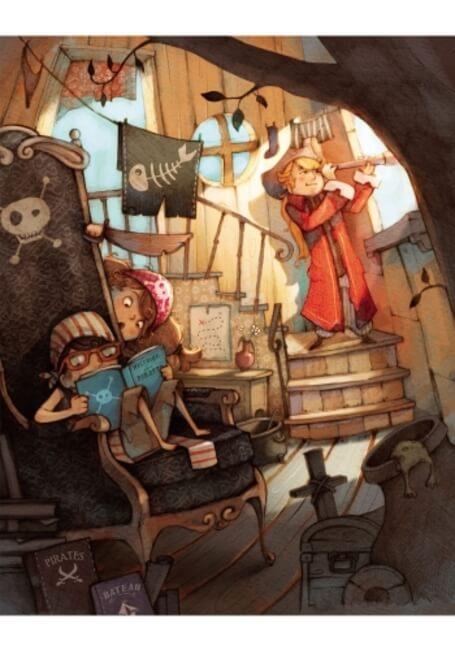 Банда Пиратов. Таинственный остров.