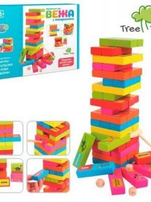 Деревянная игрушка Башня