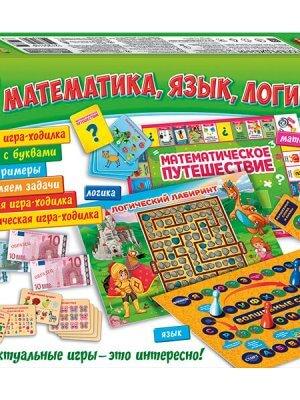 Большой набор 30 игр. Математика. Язык. Логика
