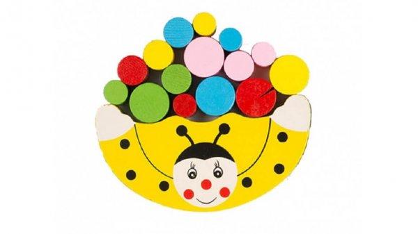 Дерев'яна іграшка Балансир (жовтий)