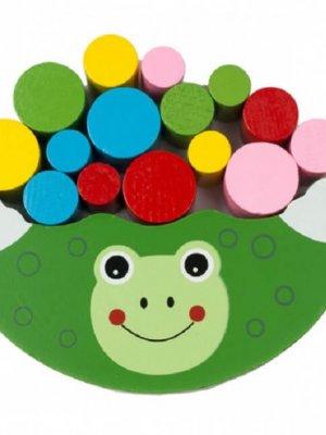 Дерев'яна іграшка Балансир (зелений)
