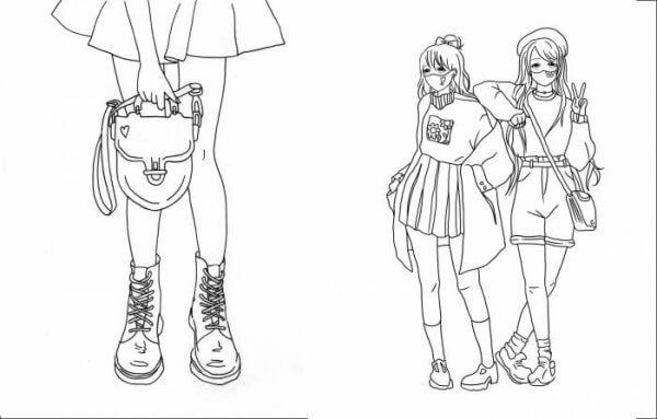Книги для дозвілля. #girls#fashion#manga