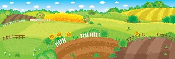 Панорамка-фантазія — Ферма