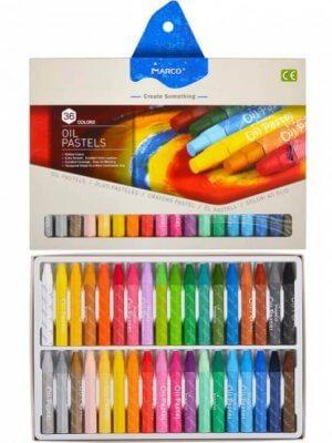Пастель масляна 36 кольорів