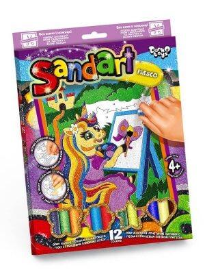 Фреска из цветного песка «SAND ART»