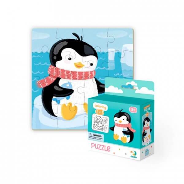 Пазл 2в1 Пінгвінчик