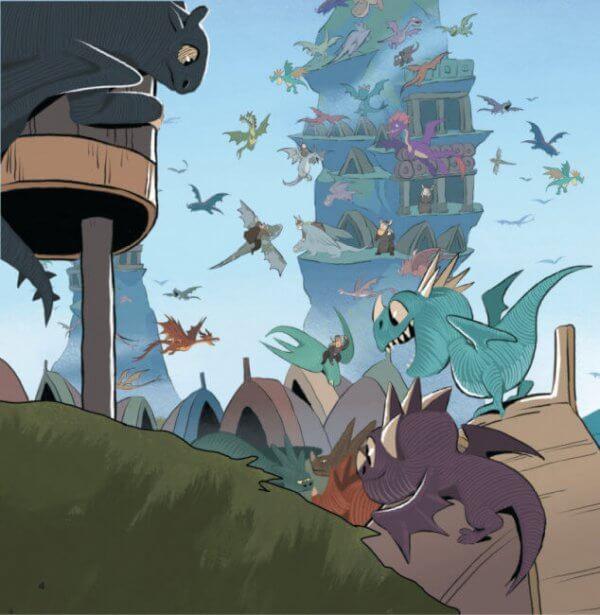Острів драконів. Колекція історій. Як приборкати Дракона 3